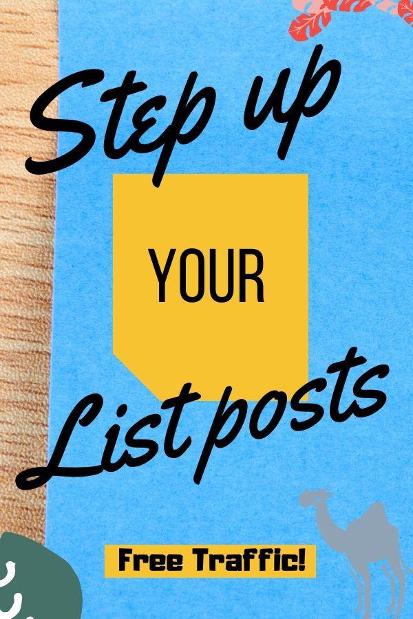 list posts